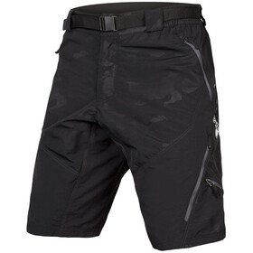 Endura Hummvee II Shorts with Liner Men, black camouflage